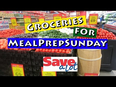 Grocery Shopping at Save A Lot|#MealPrepSunday|#ShanaEmily
