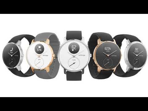 Steel HR è uno smartwatch ibrido di alta qualità che si muove con te in ufficio, palestra, piscina, dappertutto.