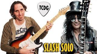 Grandioso Solo De Guitarra Estilo Slash (Guns N´ Roses) por Mario Freiria TCDG