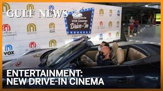 First look inside Dubai's new drive-in cinema