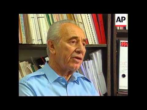 Israel - Peres Reacts To Pakistan's Nuclear Tests