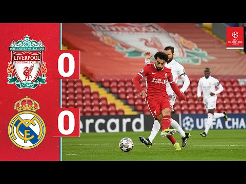 Highlights: Liverpool 0-0 Real Madrid    Reds go out after goalless draw