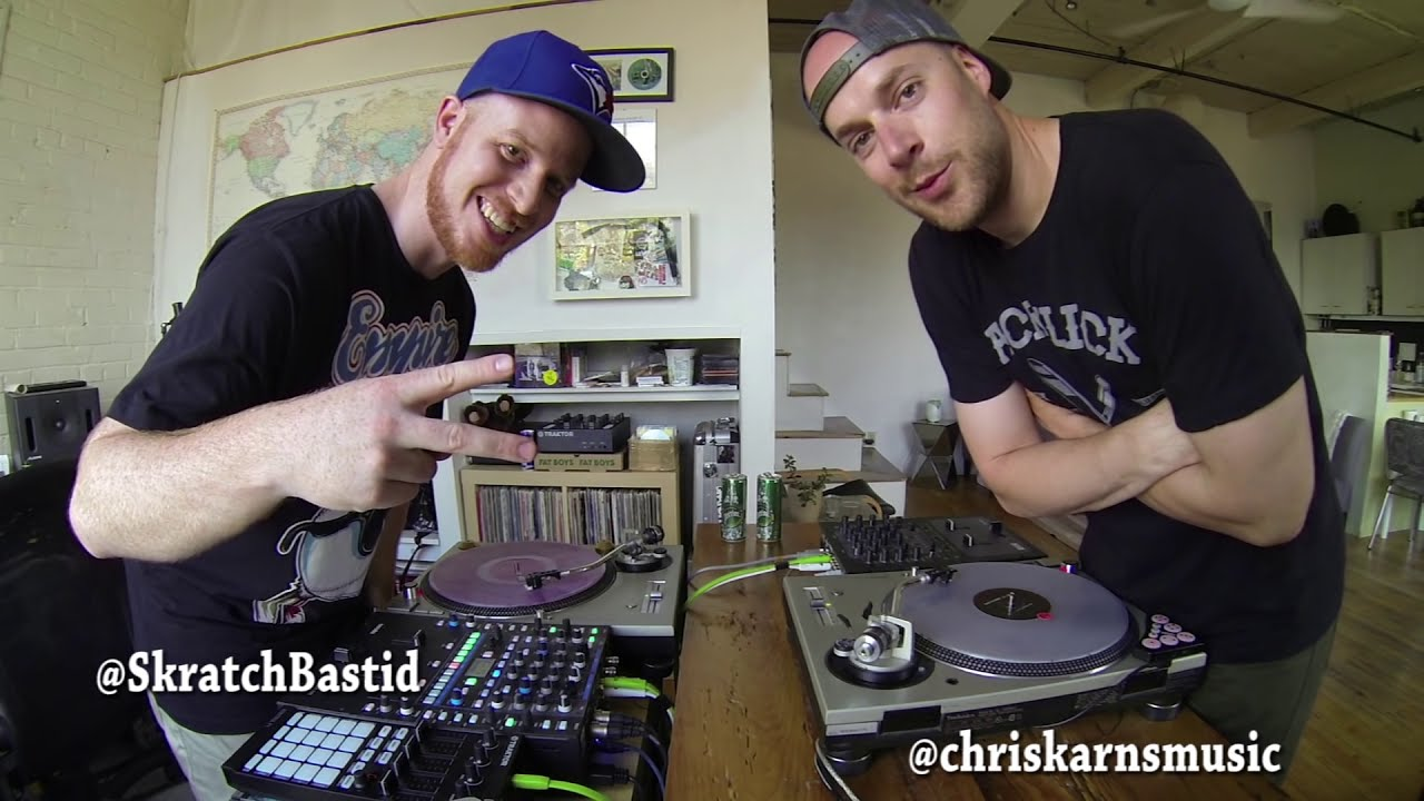 Skratch Bastid & Chris Karns - Ready? YEAH! (2 DJ performance)