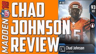 HOW GOOD IS 93 OVERALL CHAD JOHNSON? MUT 18 CARD REVIEW