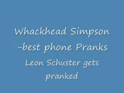 leon Shuster gets pranked.wmv