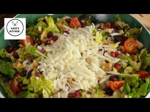 2 Dakikada Kahvaltılık Peynir Salatası Tarifi