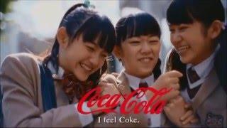 さくら学院とさわやかテイスティコカ・コーラ.