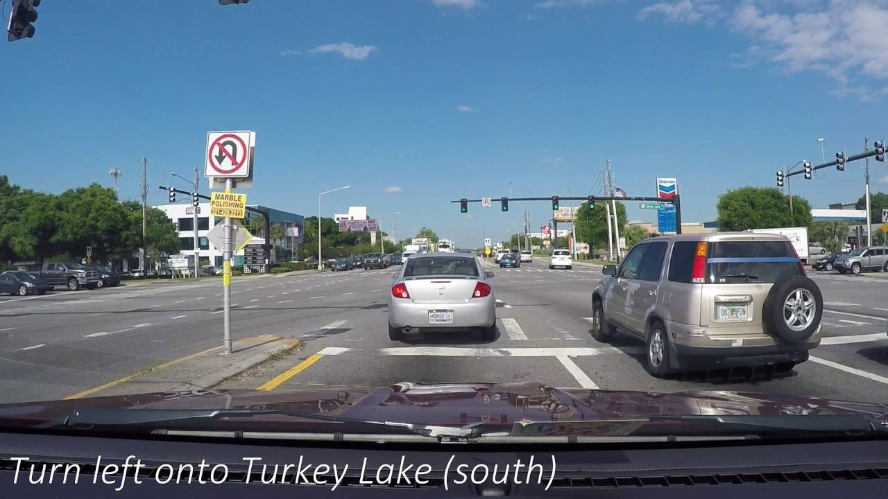 Rosen Inn at Point to Walmart Turkey Lake - YouTube