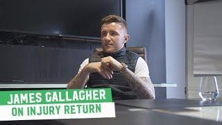 James Gallagher eyeing October return in Dublin