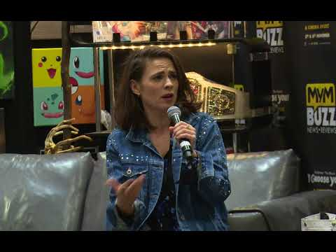 MARVELS Agent Carter Hayley Atwell LIVE MCM LONDON