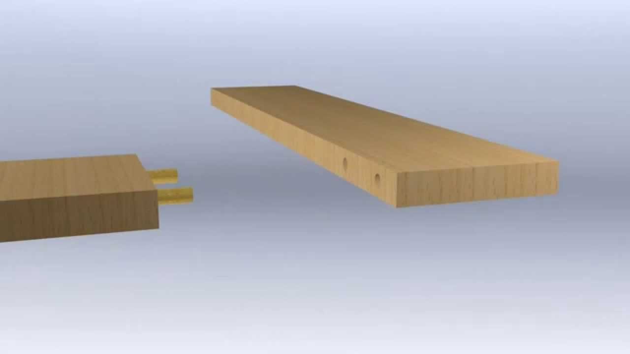 assemblage tourillon youtube. Black Bedroom Furniture Sets. Home Design Ideas