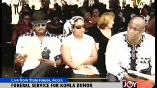 FUNERAL OF THE LATE KOMLA  DUMOR