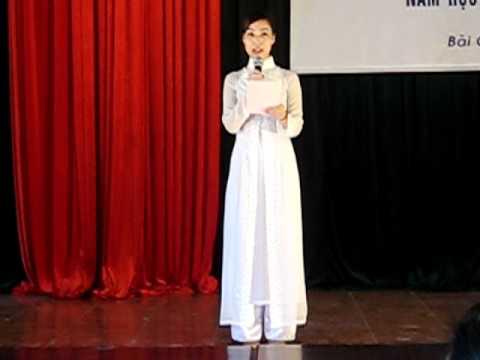 TRƯỜNG MN HOA SEN BAI CHAY-MC Hoàng Mai Thu