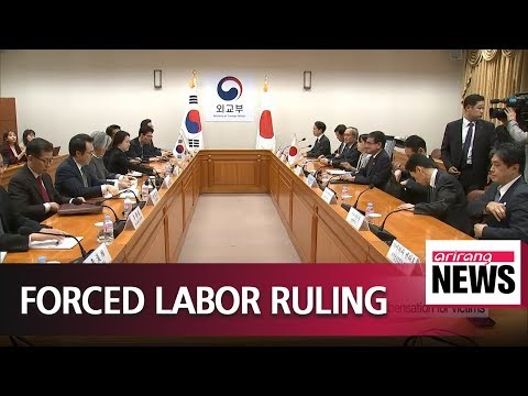 S. Korea FM tells Japan FM she respects court ruling on compensation for victims