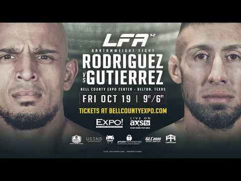 LFA 52 Rodriguez vs Gutierrez Promo