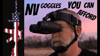 Sightmark's Ghost Hunter NV Goggles - REVIEW