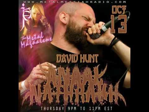 David Hunt of Anaal Nathrakh interview on Metal Messiah Radio