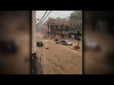 One person missing after flash flooding hits Ellicott City, Maryland