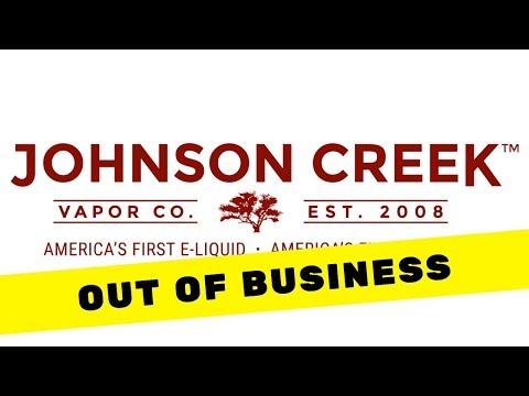 Johnson Creek Goes Out of Business