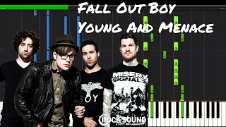 Fall Out Boy - Young And Menace Piano Tutorial