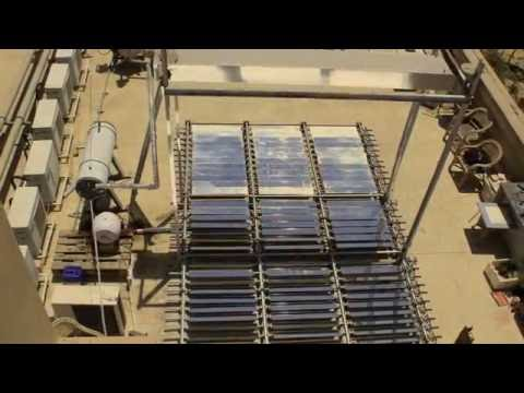 Thesis Project: Solar Steam Generator using Fresnel Mirrors