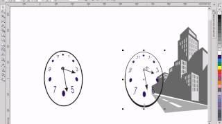 Уроки Corel Draw X3 - урок 18 - Перспектива и тень
