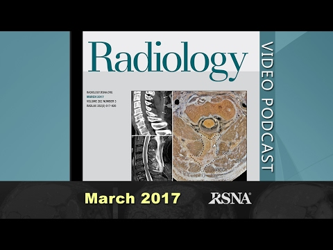 March 2017 Podcast (Gadolinium;  Impact of High-Field-Strength on Double-Strand-Break Formation)