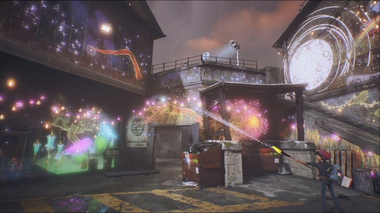 PS4《Concrete Genie》宣传影像