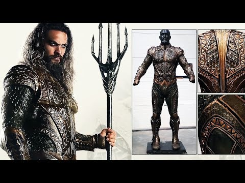Flash & Aquaman Costumes 'Justice League' Behind The Scenes