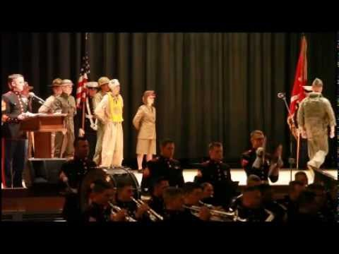 MCAS Cherry Point's annual Marine Corps Birthday Uniform Pageant, Cake Cutting Ceremony