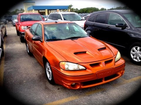 2003 Pontiac Grand Am GT Ram Air V6 Start Up, Quick Tour, & Rev With Exhaust View - 105K