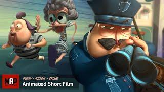 "CGI 3D Animated Short Film ""ESCARFACE"" Hilarious Action Animation by Supinfocom"