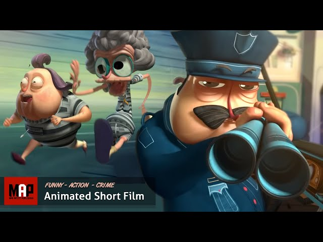 ESCARFACE | 3D Animation - Two Grannies Rob a Bank by Supinfocom)