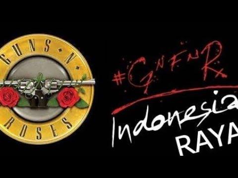 Lagu Indonesia Raya di konser Guns N' Roses Jakarta 2018 Mp3
