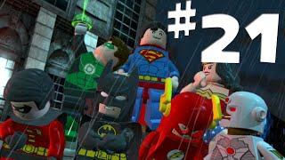 Road To Arkham Knight - Lego Batman 2 Gameplay Walkthrough Part 21 - The Justice League