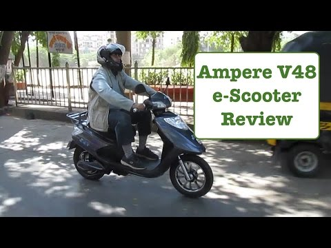 Ampere V48 Electric Scooter Review