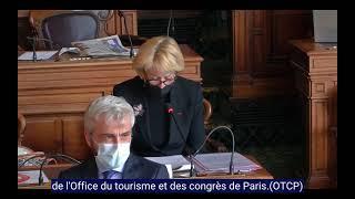 Intervention sur projet de nouveau siège de l'Office de Tourisme et des Congrès de Paris (OTCP)