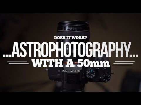 Astrophotography with a 50mm lens