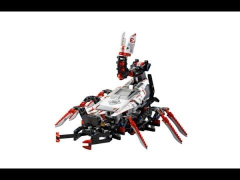 Lego Mindstorms ev3 SPIK3R Set Review&Time Lapse Building