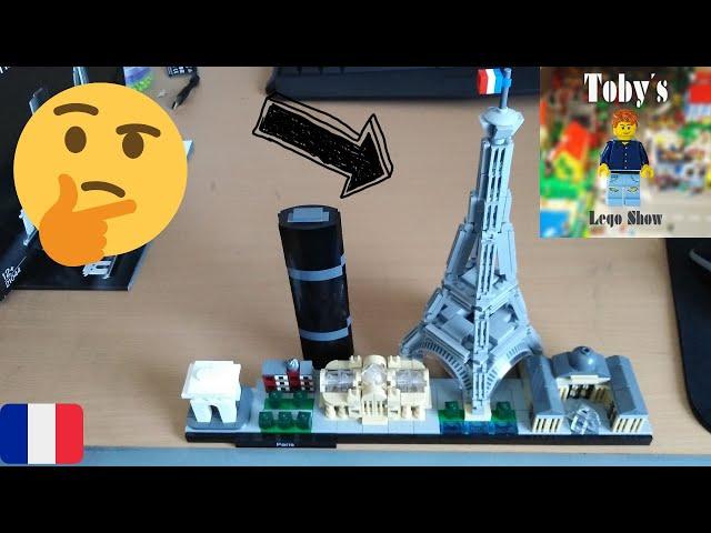 Vive la france! LEGO® Architecture 21044 Paris - Review
