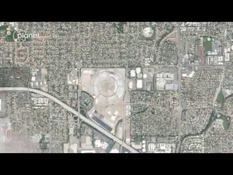 Apple Park | Construction time-lapse 2013 - 2018