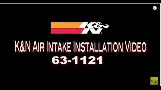 2008-2013 Yamaha YXR700 Rhino FI 700 Air Intake System Kit K&N Aircharger 63-1121 Installation