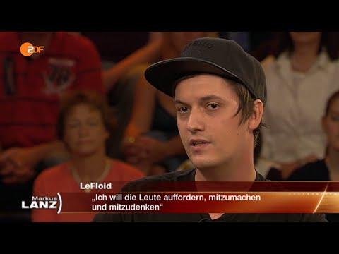 "LeFloid: ""Angela Merkel hat mich benutzt"" 19.08.2015  Markus Lanz - Bananenrepublik"