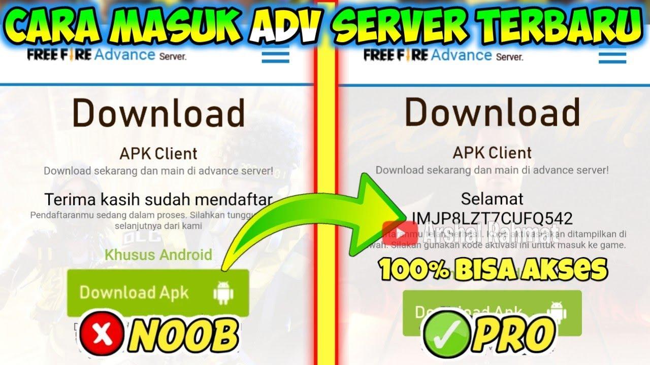 Cara Masuk Advance Server Freefire Terbaru Januari 2021 Daftar Advance Server Dapat Kode Aktivasi Youtube