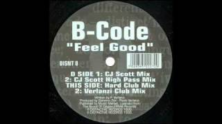 B-CODE - Feel Good (Hard Club Mix) 1995