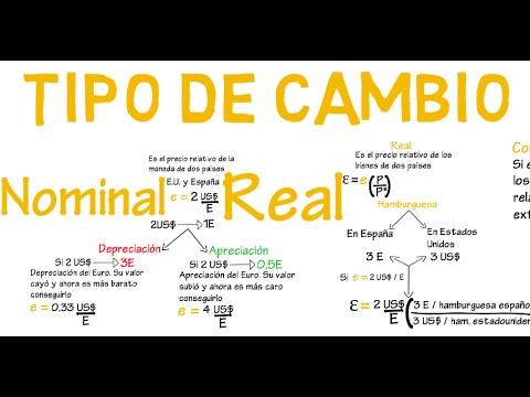 Tipo De Cambio Real Y Nominal Cap 15 Macroeconomía