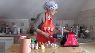 Comment préparer une pâte pour des crackers crus avec son extracteur de Jus