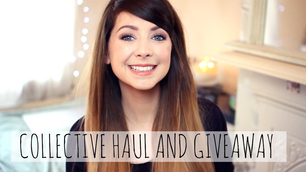 Huge Collective Haul & Giveaway | Zoella - YouTube