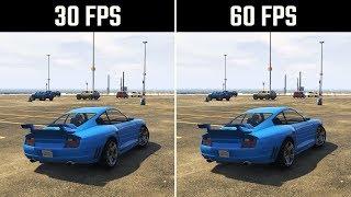 30FPS vs. 60FPS GTA 5 Gameplay