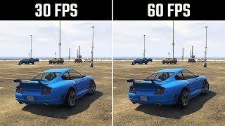 Скачать 30FPS Vs 60FPS GTA 5 Gameplay
